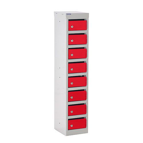 Post Lockers with 8 Slots - 1075x230x255mm