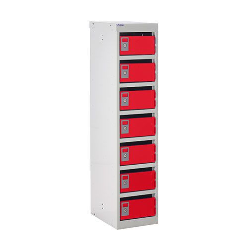 Post Lockers with 7 Slots - 1230x300x380mm