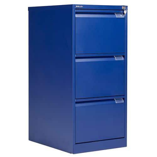 Bisley 3 Drawer Filing Cabinet with Flush Front