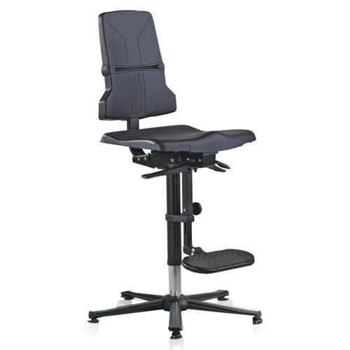 ESD Sintec Workshop Chair with Glides