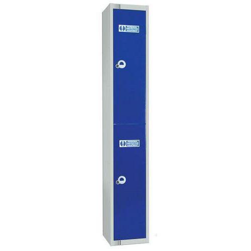 PPE Lockers 2 Door - 1800x300x300mm