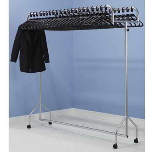 Mobile Twin Top Clothes Rails