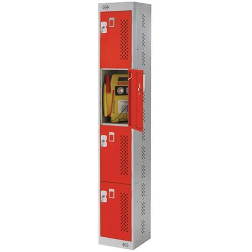 Tool Charging Lockers 4 Doors - 1800x300x450mm