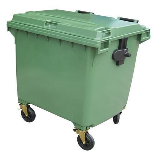 Large Four Wheel Wheelie Bin - 1100L