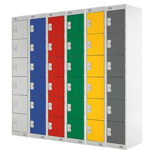 Lockers 6 Door - 1800x300x300mm