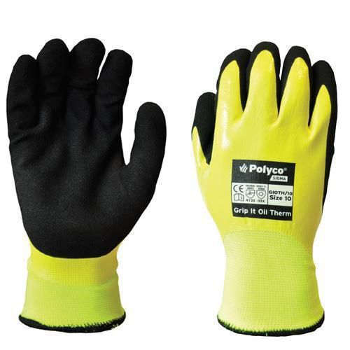 Polyco Grip It Oil Therm Gloves - 1 Pair