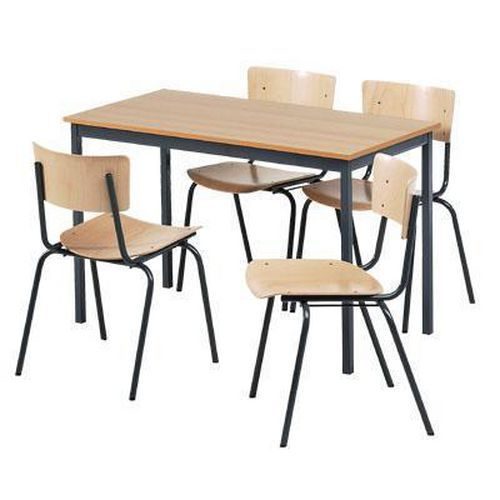 Wooden Table & Chair Set