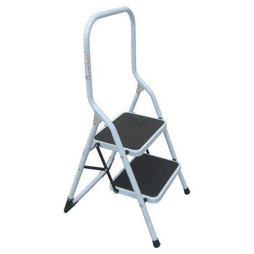 Folding Step Stool - 2 To 3 Steel Steps