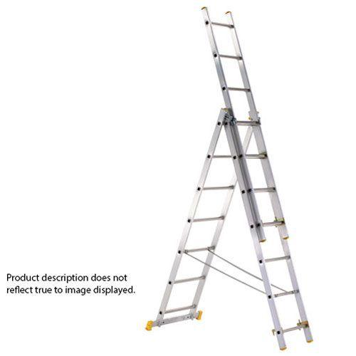 3-Part Eurostar Combination Ladder