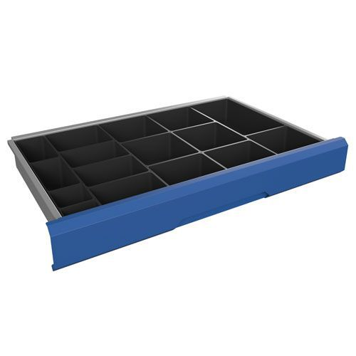 Bott Verso 16 Compartment Plastic Box Kit to Fit 100/125x800x550mm