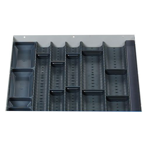 Bott Cubio Plastic Drawer Inlay Trough Accessory WxD 525x525mm
