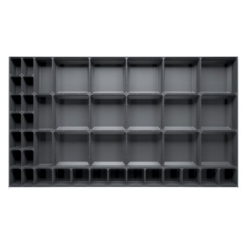 Bott Cubio Plastic Drawer Divider Accessory to Fit 75x1050x650mm