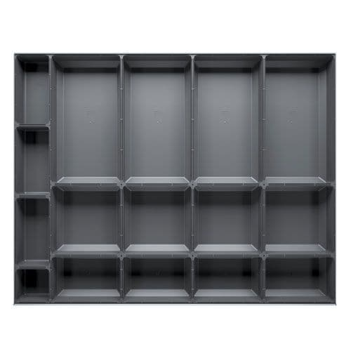 Bott Cubio Plastic Drawer Divider Accessory to Fit Drawer 75x800x650mm