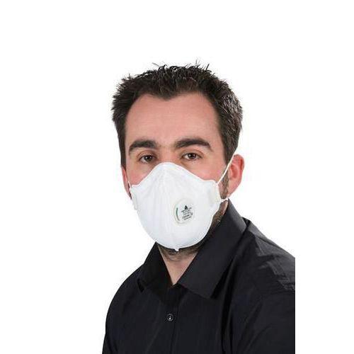 Valved Vertical Folding Disposable Mask FFP1 - Pack of 10