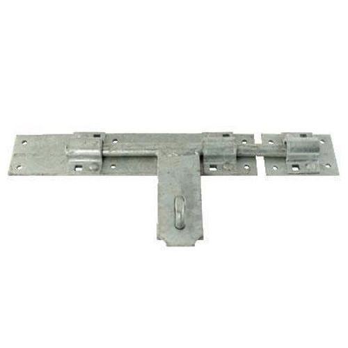 Heavy Duty Padlock Bolt - 300mm - Galvanised Steel