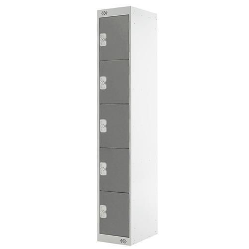 Lockers 5 Door - 1800x300x300mm