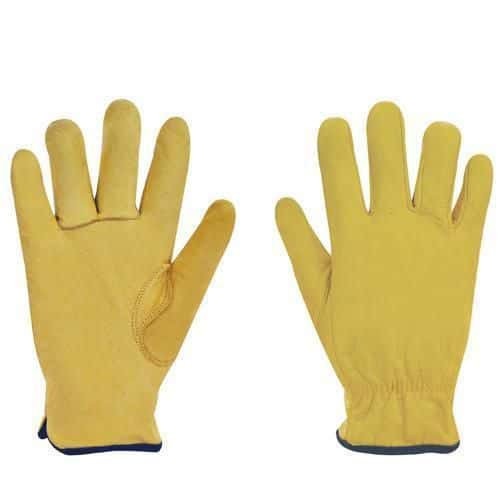 Leather Drivers Gloves - 1 Pair