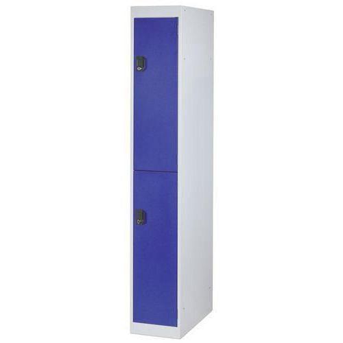 Storage Lockers 2 Door - 1800x300x500mm
