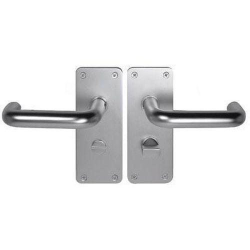 Return to Door Handle Aluminium Bathroom Set 20mm