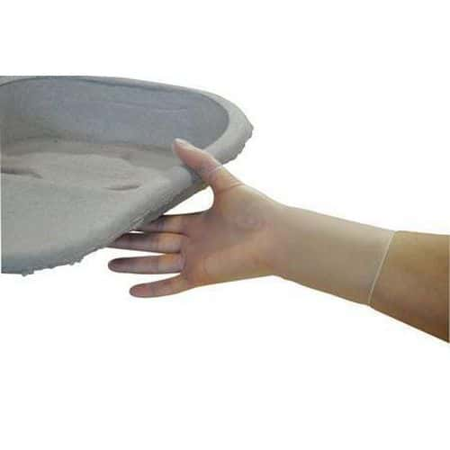 Clear Vinyl PF Disposable Gloves - Pack of 100