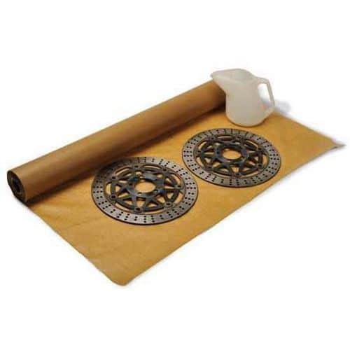 Waterproof Brown Wrapping Paper - Kraft Waxed Paper Roll