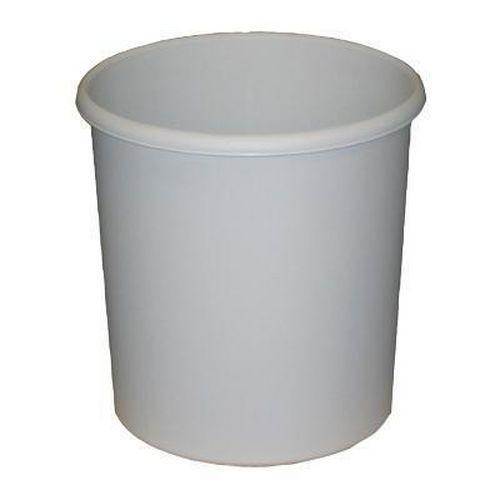 Round Plastic Wastepaper Bin