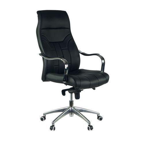 Wharfe High Back Black Leather Office Chair