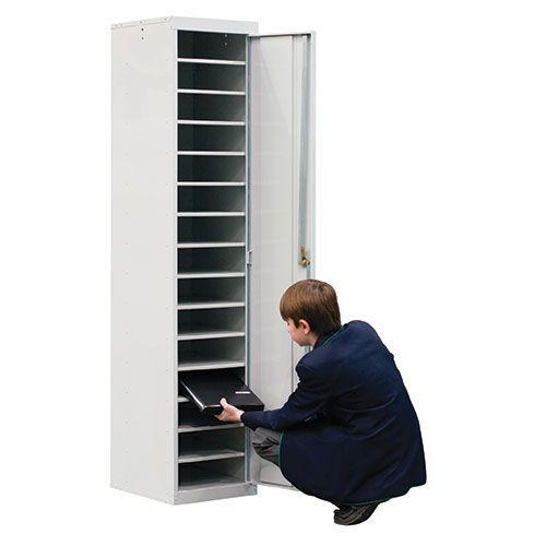 Laptop Lockers - 15 Compartments 1 Door - 1800x380x450mm