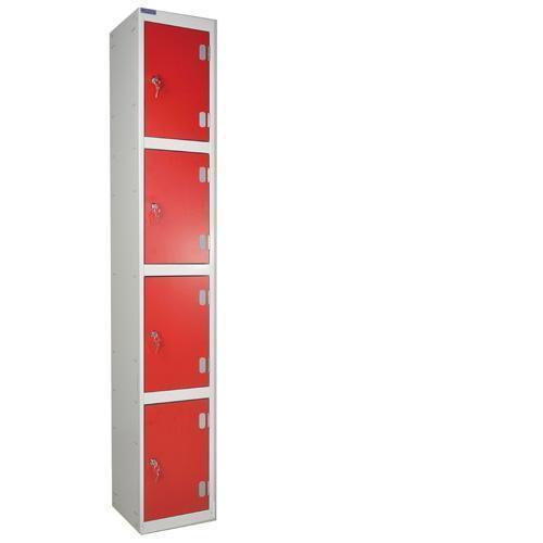 Laminate Lockers 4 Door - 1800x300x300mm