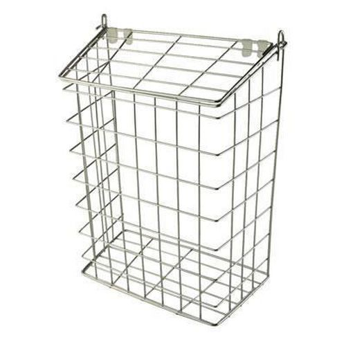 Letter Cage - 305 x 229 x 127mm - Polished Chrome