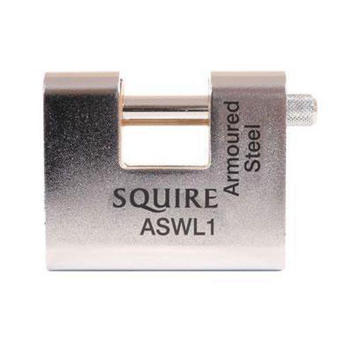 Squire Armoured Steel Shutter Lock - 60mm