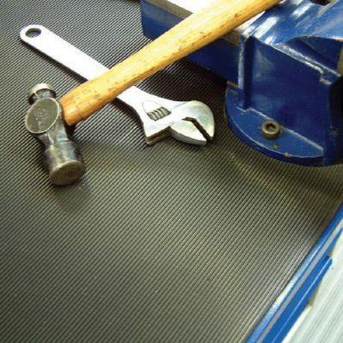 Fine Rib Rubber Anti Slip Mats Wxd 1220x3mm Free
