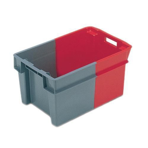 Euro Stacking Containers Red & Grey