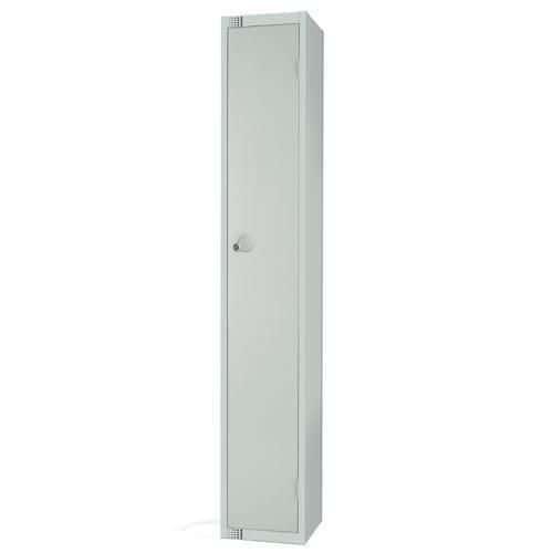 1 Door Antibac Locker 1800x300x300mm Cylinder Lock