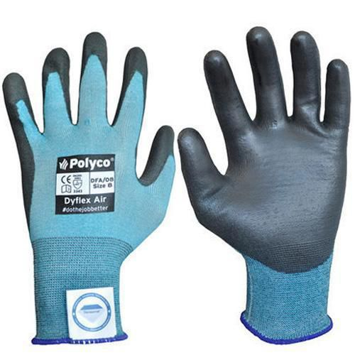 Polyco Dyflex Air Cut Resistant PU Gloves - 1 Pair