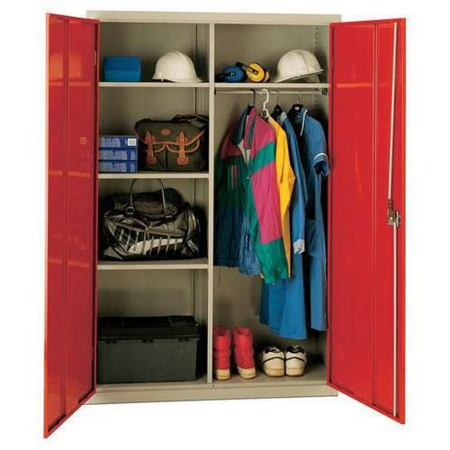 Large Volume Wardrobe Cupboard with Antibacterial Technology