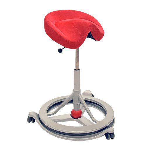 Back App Ergonomic Chair with Wheels