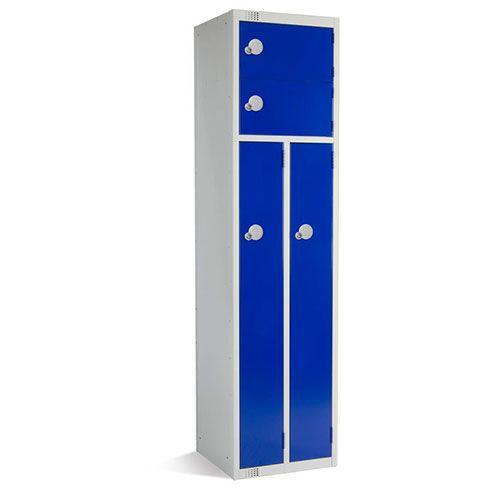 Metal Storage Lockers - 2 Person - Antibacterial Coating - Elite