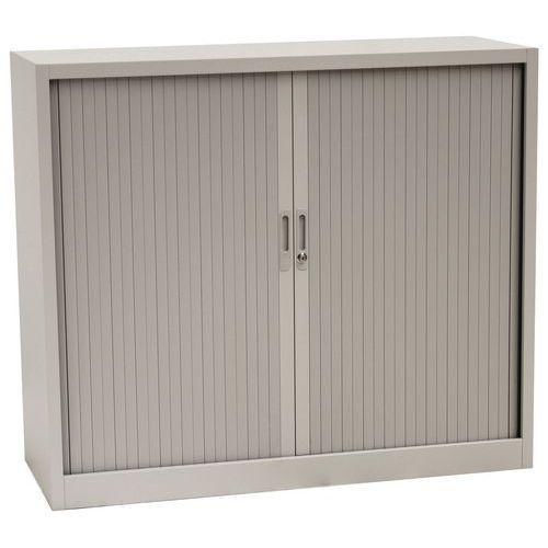 Tambour Door Cupboards - HxWxD 1050x1200x450mm