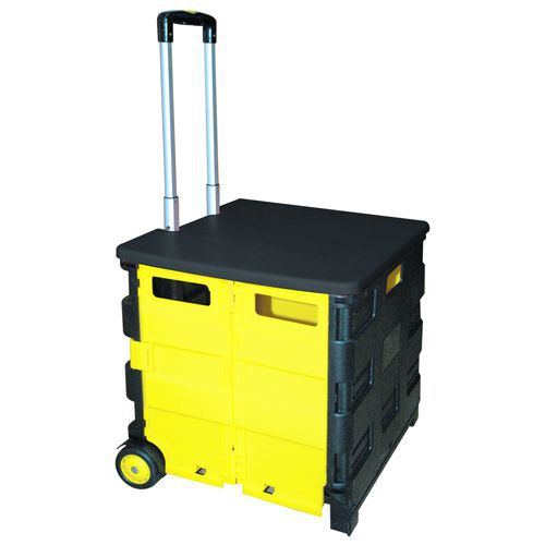 Budget Folding Box Trolley with Lid