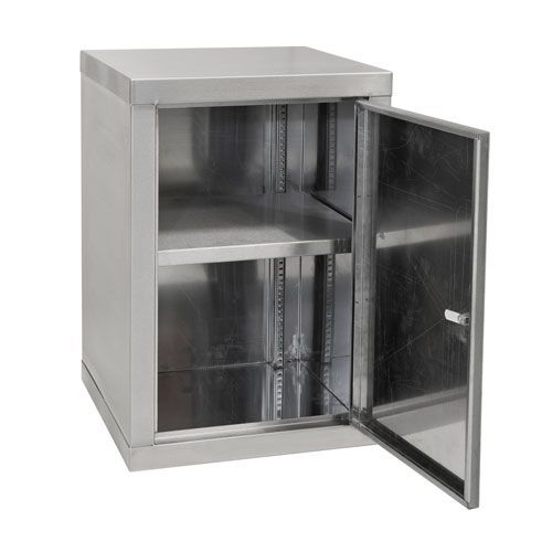 Stainless Steel Single Shelf Cabinet 600x450mm