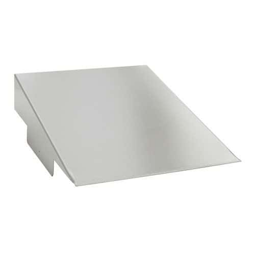 Stainless Steel Sloping Top for Cabinets