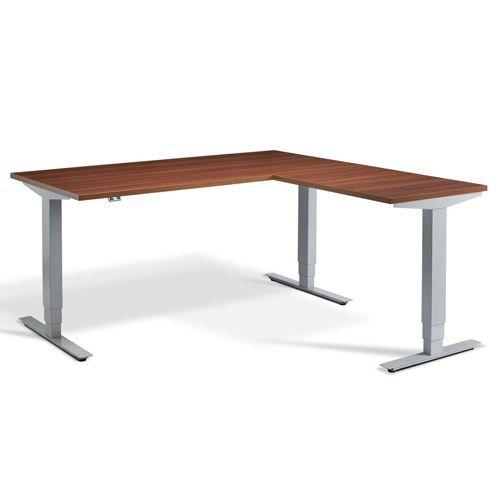 Home/Office Sit/Stand Corner Desk - Height Adjustable - Belgrave