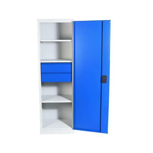 Heavy Duty Tall Cupboards with 2 Drawers