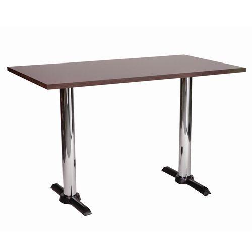 Orlando Rectangular Chrome Table