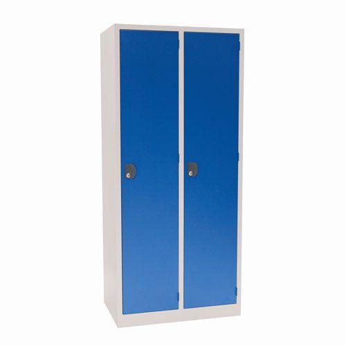 Manutan Nest of 2 Single Door Lockers - 1800x800x500mm