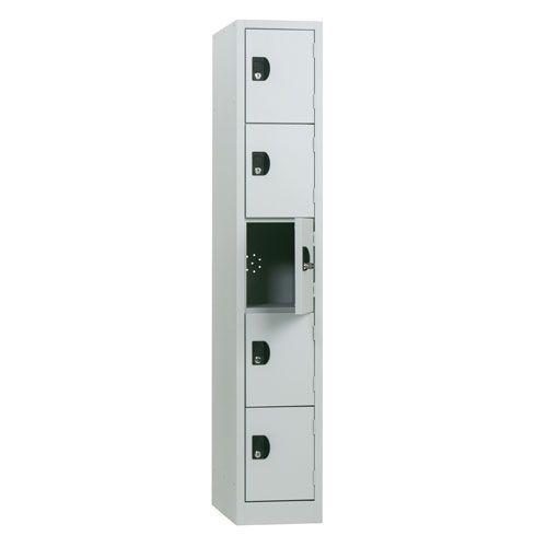 Manutan Five Door Locker 1800x315x500mm