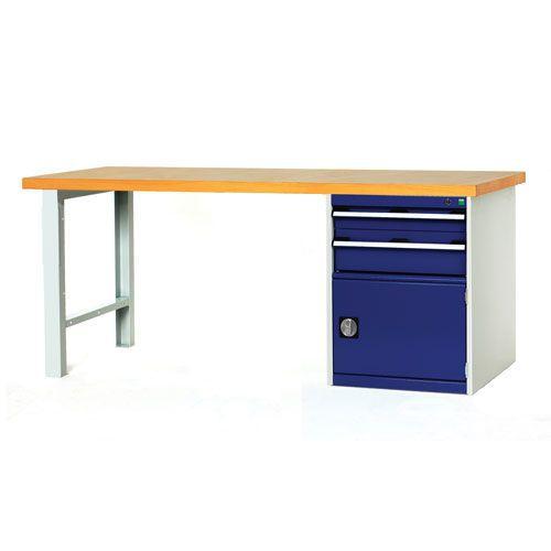 Bott Cubio Workbench with 2 Drawers & Cupboard Unit