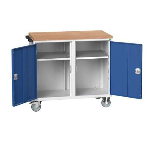 Bott Verso Mobile Workbench with Cupboards