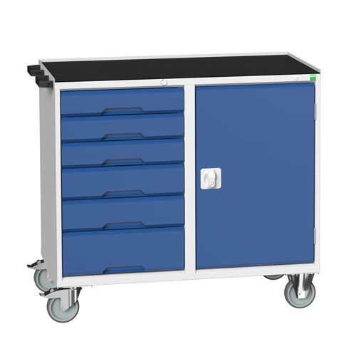 Bott Verso Mobile Workbench with Cupboard & 6 Drawers
